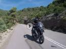 Von Naval über den Alto del Pino in Richtung Ainsa - Pyrenäen Tour 2018 mit BMW R1200GS