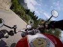 Geiles Stück Asphalt: Von Navazzo nach Gargnano (Italien) Ducati Monster