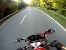 Von Oberusrsel Richtung Schmitten Motorradtour im Taunus