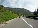 Von Terlano in Richtung Hafling, Meran, Italien