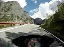 Vom Gaviapass in Richtung Stilfserjoch (Italien) - Von Tunnel zu Tunnel -