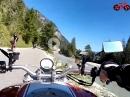 Von Wallgau zum Sylvensteinspeichersee an der Isar entlang mit Ducati Monster