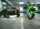 Vor Angst eingenässt - geile Kawasaki ZX-12R Werbung