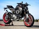 Vorstellung Ducati Monster 2021 - Alles, was man braucht, um Spaß zu haben!?