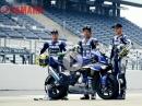 Vorstellung Yamaha Factory Racing Team für die 8 Stunden Suzuka