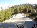 Vrsic-Pass (Passo della Moistrocca, Werschetzpass, Slowenien) Nordrampe aufwärts