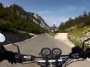 Vrsic Pass (Slowenien) Abfahrt Richtung Kranjska Gora - Sehr Geil!