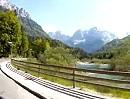 Vrsic Pass (Werschitz- oder Werschetzpass) Kranjska Gora, Slowenien