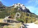 Vrsic Sattel (Slowenien) von Kranjska Gora Richtung Trenta