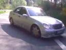 Beinahe Crash: Suzuki VS 1400 vs. Mercedes Benz Volltrottel