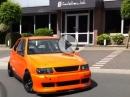 VW Polo mit implantiertem Suzuki GSX-R 1000 Motor - Winterauto