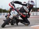 Was bringt Pitbike fahren? Selbstversuch AsphaltSüchtig bei MotoRaceAcademy
