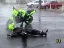 Wasser, Schnee und Eis, macht manchen Stunter heiss!