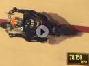 Weltrekord Guy Martin in der Steilwand, Wall of Death: 125,77 km/h