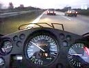 Wenn da ein LKW rauszieht, drückst die Augäpfel ans Visier!! Highspeed auf der Autobahn
