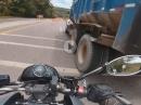 Wenn es schlagartig eng wird - Geiler Save, Beinah Crash - Suzuki B-King