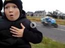 Wenn Vollgas Angst macht - Entsetzen im Gesicht - FlyBy Ulster Grand Prix 2016