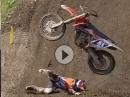 Wenns auf die Knochen geht: MXGP 2015 Best Crashes Compilation
