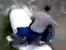 Wer auf dem Rohr Gas gibt fällt hin - Mopped Abflug der logisch ist