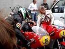 Wer da keinen Noppenanzug kriegt ist kein Racer: Warmup MV Agusta geiler als Sex!