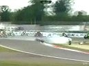 What a crash! - Startunfall im 2. Rennen der WSBK in Vallelunga (Italien)