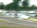 What a crash! - Startunfall im 2. Rennen der WSBK in Vallelunga (Italien)
