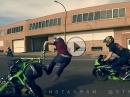 Wheelie Crash: Biker trifft Biker und dann muss der Helm dran glauben