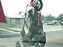 Wheelie Crash - Geil wenn der Schmerz nachlässt!, Schürfing mangels Klamotten