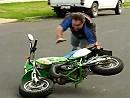 Wheelie Crash - Gaaaanz langsam zum nachmachen und üben