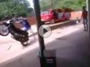 Wheelie Crash: Juhu ich kann (bald) Wheelie ... in die Mauer