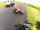 Wheelie Crash: Zuviel Gas, aber geil den Schwung zum Sprint umgesetzt