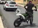 Hammer Type: Wheelie, Drift - Reggae Show mit Crosser- Geil