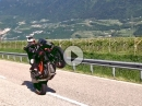 Wheeliesieren in Südtirol mit KTM Superduke