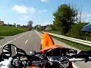 Wheelie KTM 660 SMC Helmcam Es lebe die Einradzone