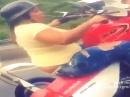 Wheelie Mama - auf dem Hinterrad zum Supermarkt :-)
