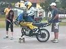 Wheelie Stunt - wer hat die Telegabel geklaut?