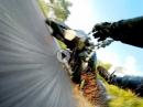 WheelieCrash: Aufgesetzt, Lenkerschlagen, Crash ... wenn's scheisse läuft ...