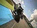 Wilde Reiter GmbH: Triumph Street Triple Cup 2009 - OnBoard Hockenheim Lauf 7