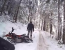 Winter downhill training