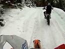 Winterenduro / Wintertraining - Spaß im Schnee