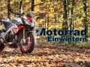 Winterfest in 12 Schritten: Motorrad richtig einwintern. How to von ChainBrothers