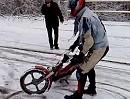 Wintertreffen der Motorradfahrer auf Bistro Tramp