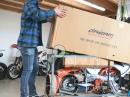 Wir bauen ein Pitbike, Dream Speed 160 Mototech bei APEX Pitbikes