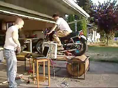 gaskrank basteltipp wir bauen uns einen motorrad pr fstand handwerkliches geschick vorausetzung. Black Bedroom Furniture Sets. Home Design Ideas