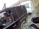 Unglaublich: Wohnwagen auf der Ligurischen Grenzkammstrasse