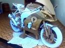 WOW! Wir bauen eine Kawasaki ZX-10R ... aus Karton