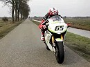 WSB Ten Kate Honda Fireblade on the Road