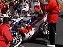 WSBK 1990 Donington (Enland) - Rennen 1 - Zusammenfassung