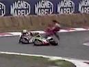 WSBK 1990 Monza (Italien)- Rennen 2 - Zusammenfassung