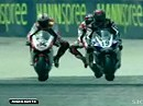 WSBK 2009 - Monza (Italien), SBK Race 1 - Highlights mit Interviews